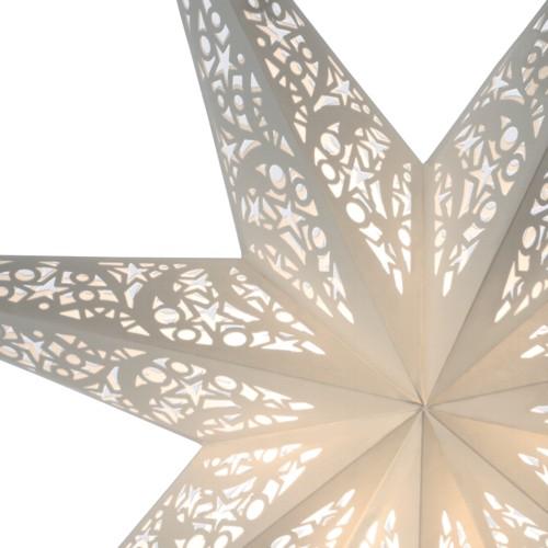 starlightz leuchtstern siluett wei stern papier. Black Bedroom Furniture Sets. Home Design Ideas