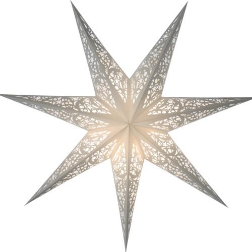 starlightz leuchtstern siluett wei stern papier weihnachtsstern lampe ebay. Black Bedroom Furniture Sets. Home Design Ideas