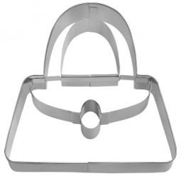 Ausstechform Handtasche 10 cm Ausstecher Tasche Birkmann