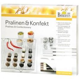 Pralinenset 9 tlg Pralinenausstecher Pralinen Birkmann