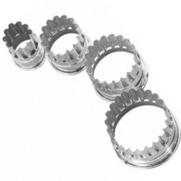 Ausstechform Kreis gezackt 3,5 cm Ausstecher Ring rund Birkmann