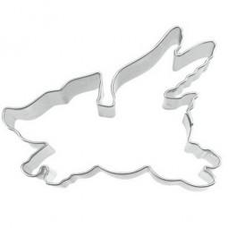 Ausstechform Schwein mit Flügel 7 cm Ausstecher Glücksschwein Städter