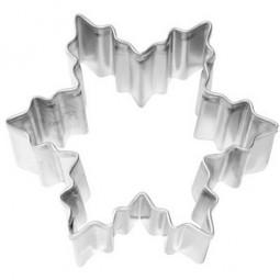 Ausstechform Schneestern 6 cm Ausstecher Stern Eiskristall Birkmann