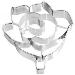 Ausstechform Rose 6 cm Ausstecher Blume Birkmann