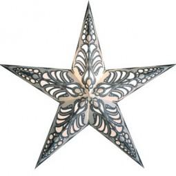 starlightz rani schwarz weiss leuchtstern papier stern lampe weihnachtsstern starlightz. Black Bedroom Furniture Sets. Home Design Ideas