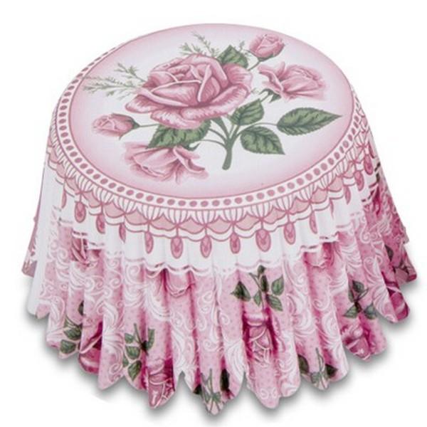 Muffinförmchen Cupcake Papierförmchen Muffin Rosengarten Rose Rosen Städter