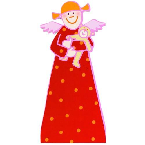 Himmlische Schwestern Rosine Klappkarte Kuvert Karte Engel Weihnacht Angel