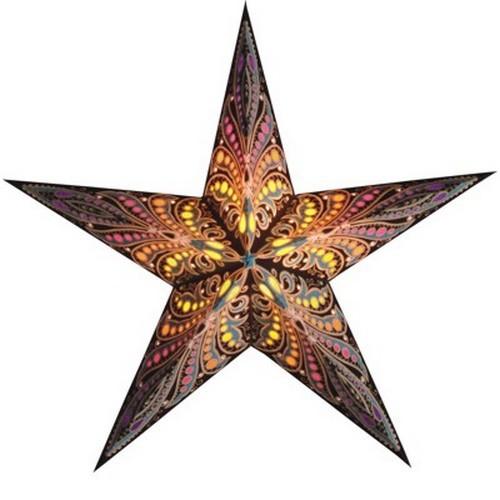 Starlightz Queen of Java Leuchtstern Papier Stern Lampe Weihnachtsstern