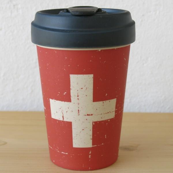 Bamboo Cup Coffee To Go Becher Schweiz Suisse Bambus Kaffeebecher