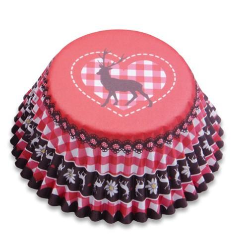 Muffinförmchen Cupcake Aluförmchen Hirsch Muffin Städter
