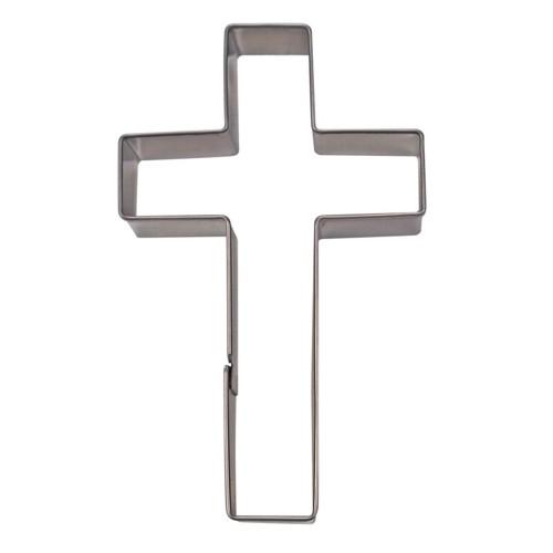 Ausstechform Kreuz 7 cm Ausstecher Glaube Städter