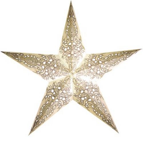 Starlightz Pax weiss Leuchtstern Papier Stern Lampe Weihnachtsstern