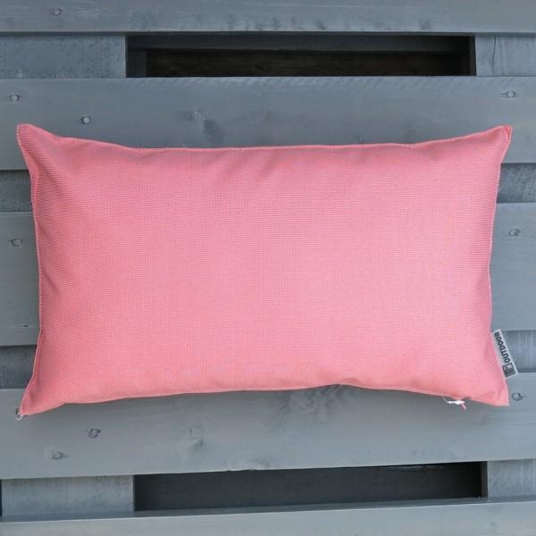 Outdoor Kissen St. Maxime rosa dunkel pink 50 x 30 cm Garten für draußen
