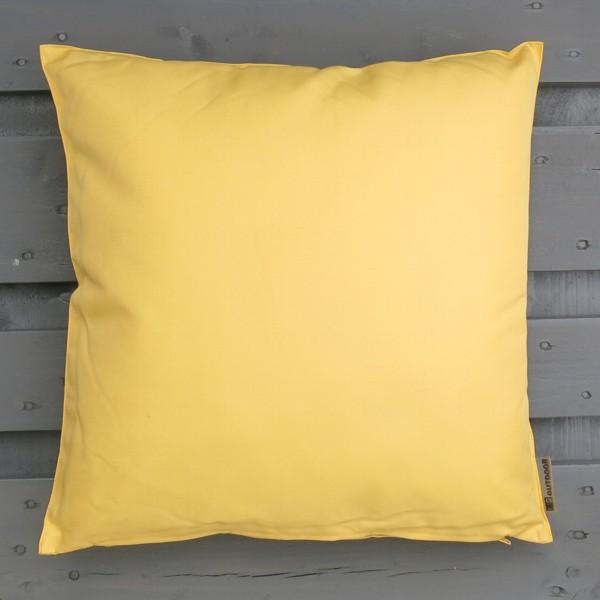 Outdoor Kissen gelb 47 cm St. Tropez Garten für draußen