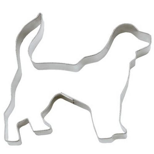 Ausstechform Hund 8 cm Ausstecher Golden Retriever Städter