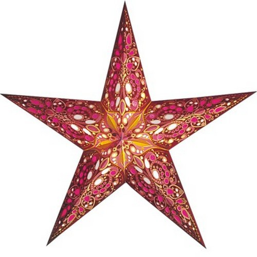 Starlightz Rani Leuchtstern Papier Stern Lampe Weihnachtsstern
