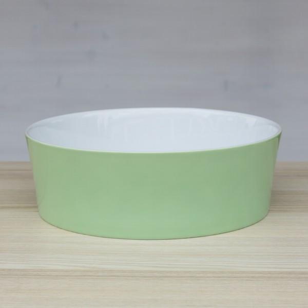 Arzberg Tric Schale 21 cm spring grün konisch Porzellan
