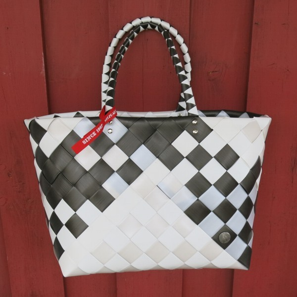 Witzgall ICE BAG Shopper 5017 57 braun grau weiß Einkaufskorb