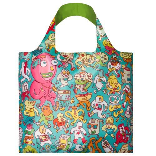 LOQI Tasche ARTISTS Folks Einkaufstasche Falt-Shopper BAG