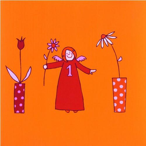 Himmlische Schwestern Servietten orange 20 Stück Serviette