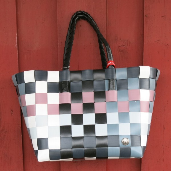 Witzgall ICE BAG 5010 21 Shopper Einkaufskorb altrosa schwarz