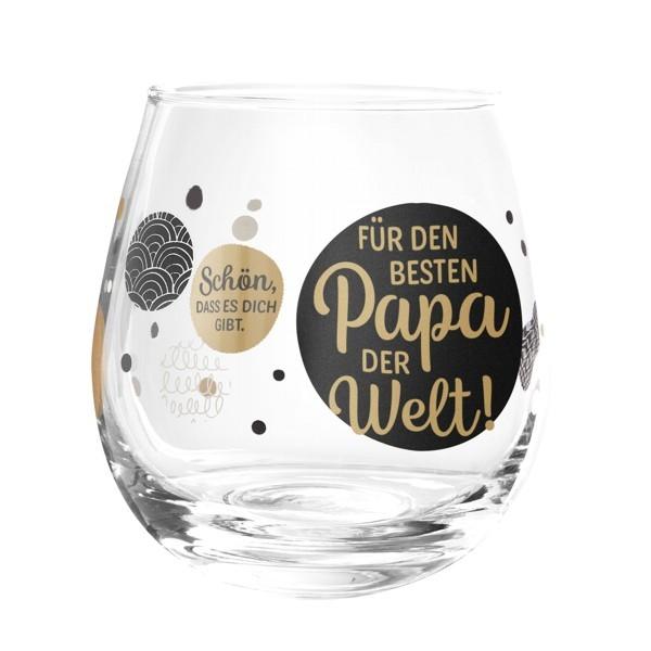 Formano Glas Spruch Papa Für den besten der Welt Prosit Wein Wasser Cocktail