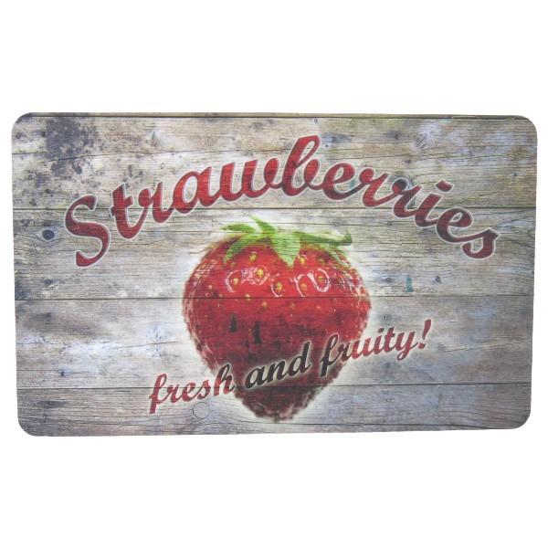 Frühstücksbrettchen Erdbeeren Strawberry