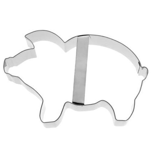 Ausstechform Schwein 12 cm Ausstecher Glücksschwein Birkmann