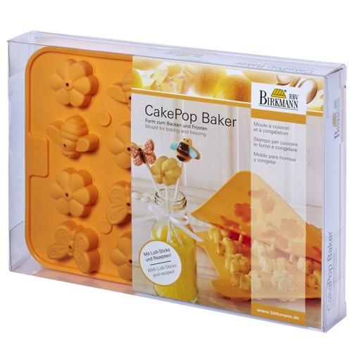 CakePop Backform Baker Primavera Blume Schmetterling Käfer Silikon Birkmann
