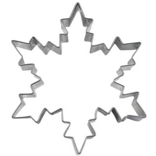 Ausstechform Eiskristall 8 cm Ausstecher Kristall Städter
