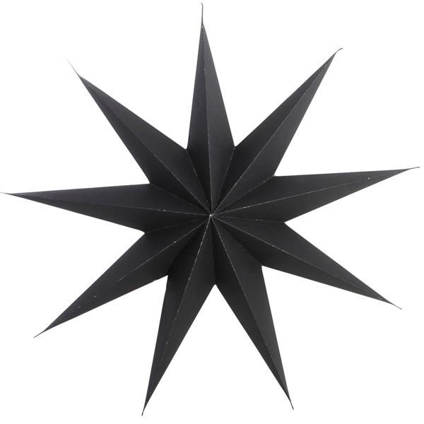 House Doctor Stern dunkelbraun fast schwarz 45 cm II. Wahl