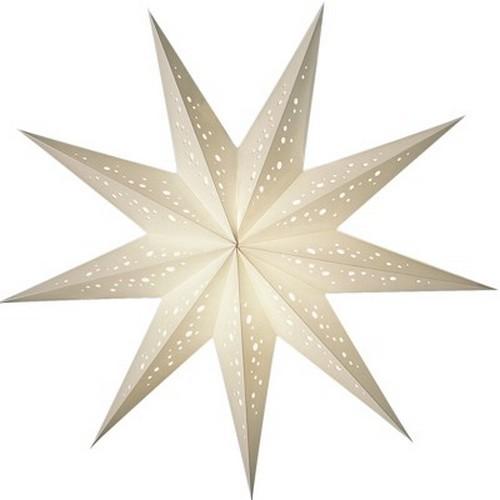 Starlightz Bianco klein Leuchtstern Papier Stern Lampe Weihnachtsstern