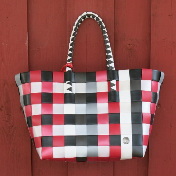 Witzgall ICE BAG 5010 25 Shopper rot schwarz grau Einkaufskorb