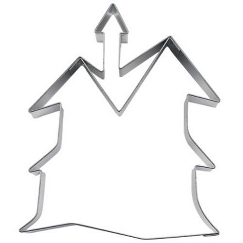 Ausstechform Spukschloß 9,5 cm Ausstecher Halloween Städter
