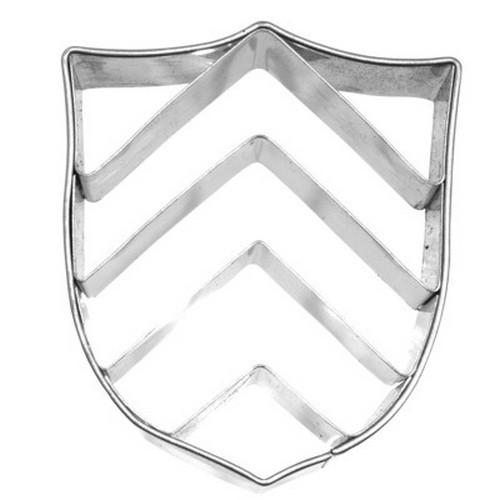 Ausstechform Burgwappen 5 cm Ausstecher Wappen Ritter Birkmann