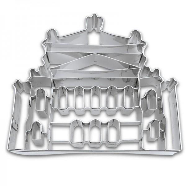 Ausstechform Alte Oper 9 cm Ausstecher Frankfurt Städter