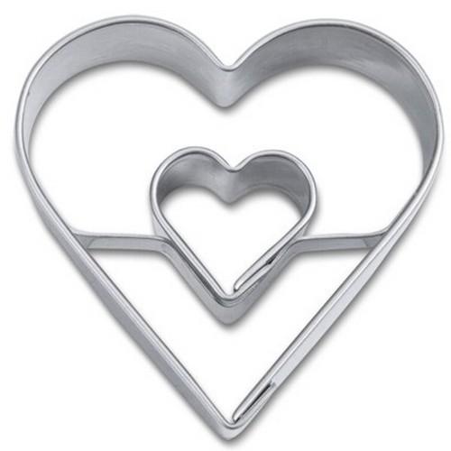 Ausstechform Herz 4 cm Ausstecher mit Herz Städter