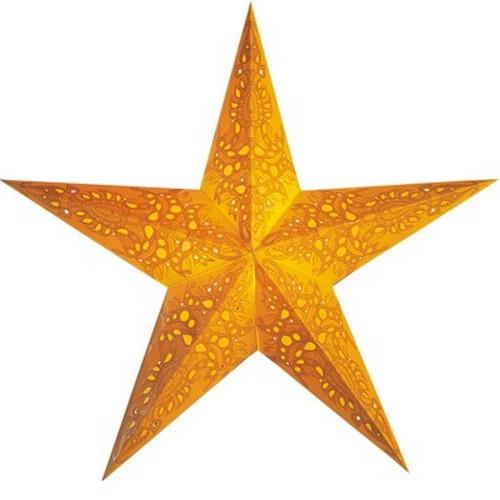 Starlightz Mono yellow Leuchtstern Papier gelb Stern Weihnachtsstern Lampe