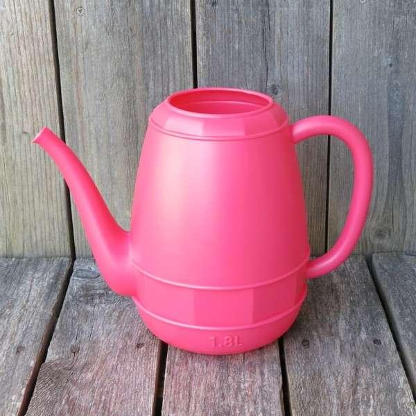 Gießkanne rosa 12 l Kunststoff Form Kaffeekanne NEWSTALGIE