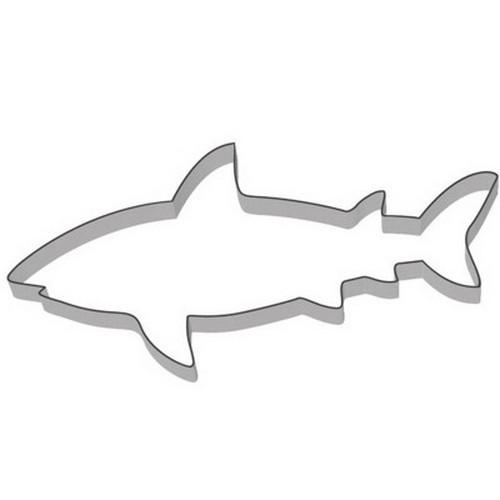 Ausstechform Hai 8 cm Ausstecher Fisch Städter