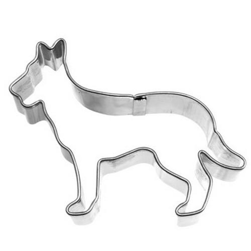 Ausstechform Schäferhund 6,5 cm Ausstecher Hund Birkmann