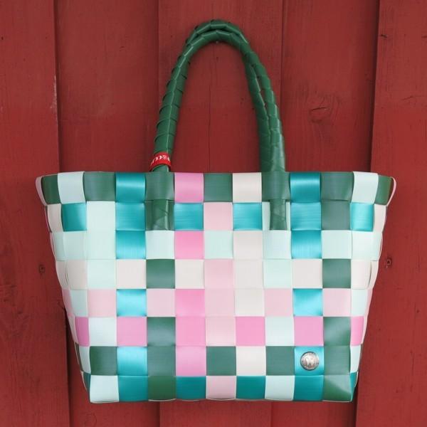 Einkaufskorb ICE BAG 5010 07 Witzgall Shopper grün rosa