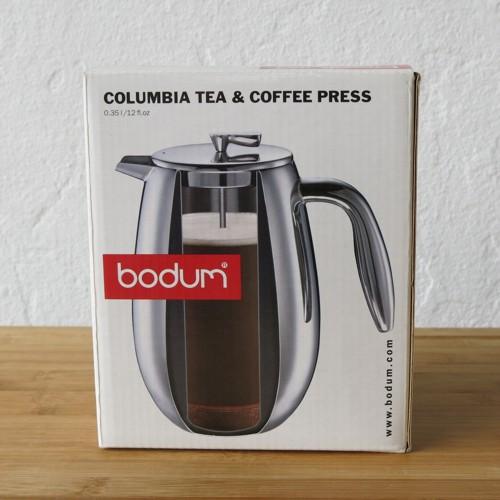 bodum columbia kaffeebereiter 0 35 l edelstahl gl nzend. Black Bedroom Furniture Sets. Home Design Ideas