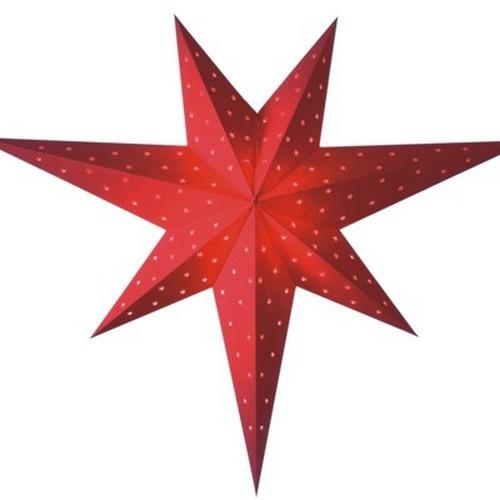 Starlightz Twinkle rot Leuchtstern Papier Stern Lampe Weihnachtsstern