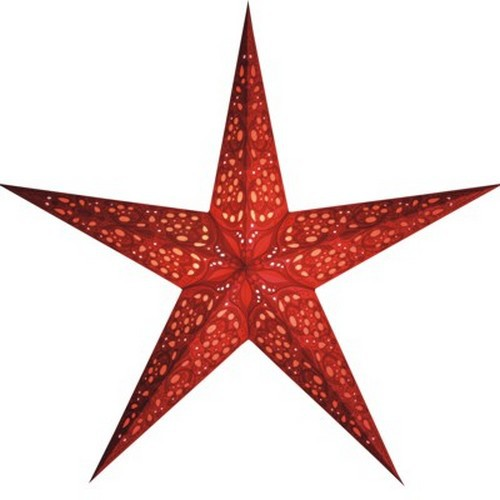 Starlightz Maharaja rot Leuchtstern Papier Stern Lampe Weihnachtsstern