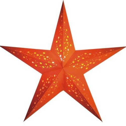 Starlightz Mia orange Leuchtstern Papier Stern Lampe Weihnachtsstern