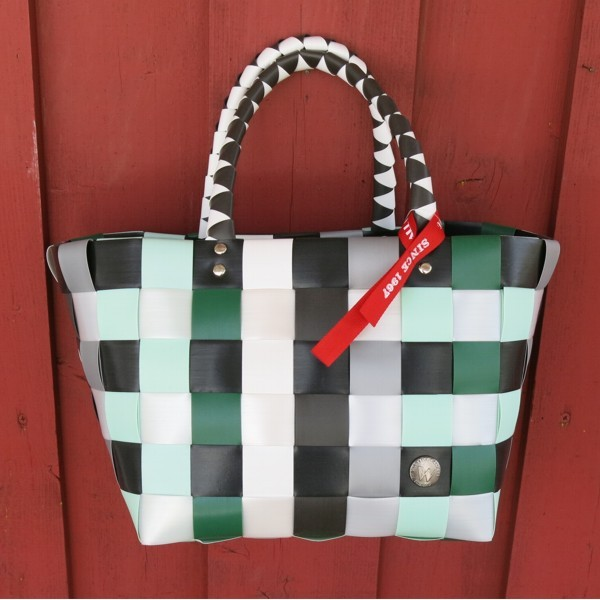 Witzgall ICE BAG Mini 5008 47 Einkaufskorb klein grün grau weiß