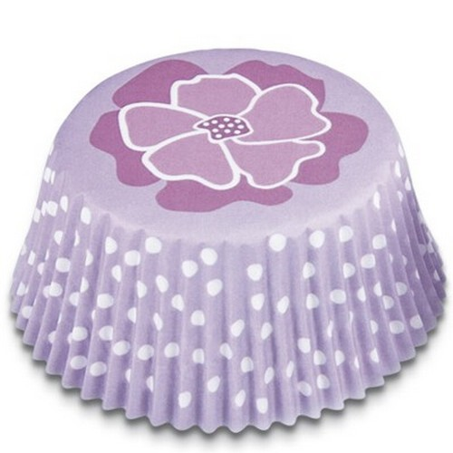 Muffinförmchen Cupcake Papierförmchen Muffin Blume lila Städter