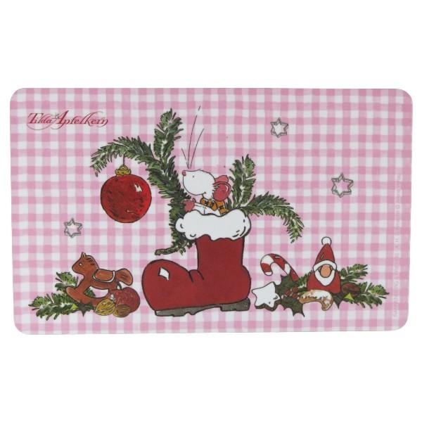 Frühstücksbrettchen Tilda Apfelkern Weihnachten