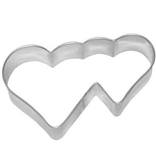 Ausstechform Herz 7 cm Ausstecher Doppelherz Birkmann